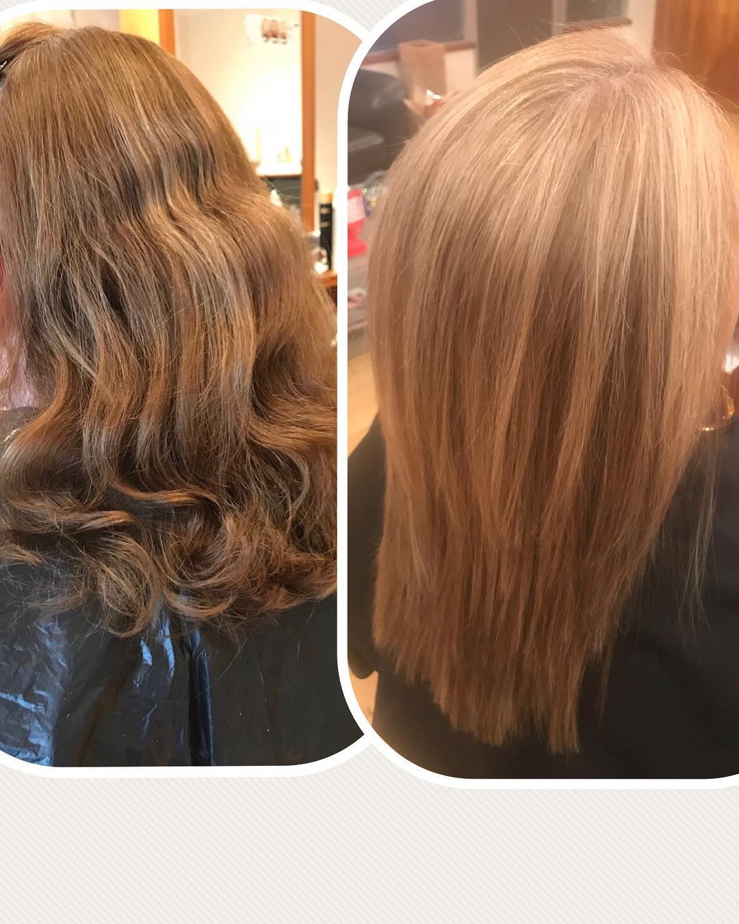 From drab to FAB!! Gorgeous set of natural highlights forhellip