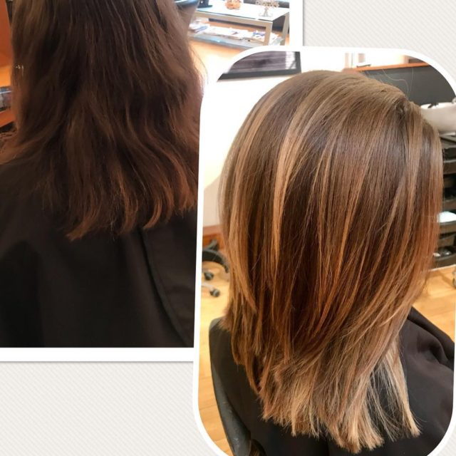 Need a new look? Try balayage for a natural lowhellip