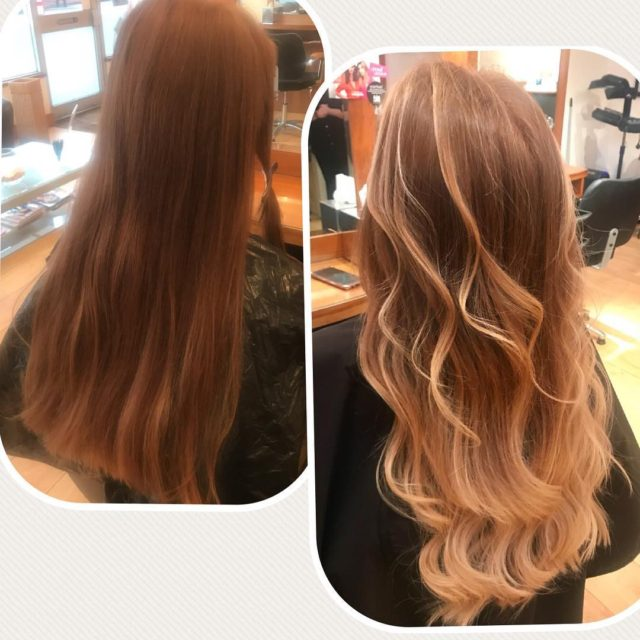 What a great job! Beautiful balayage for this girl! Whenhellip
