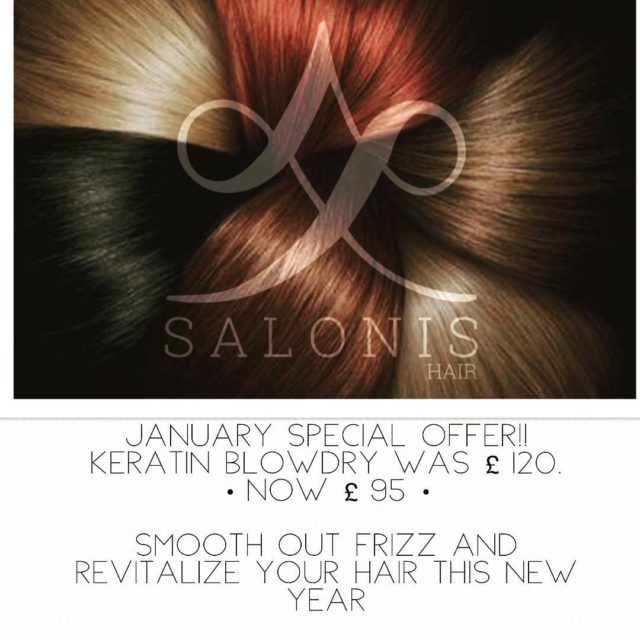 JANUARY SPECIAL OFFER!!! Get your hair looking and feeling revitalisedhellip