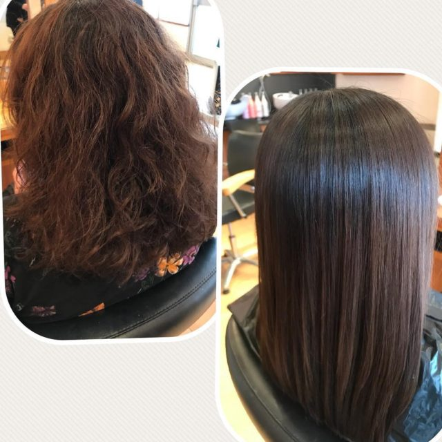 Beautiful results of our Keratin based smoothing blowdry Look athellip