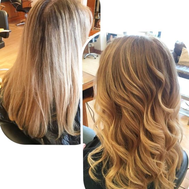 Reverse balayage softer elegant and glamorous what more could wehellip